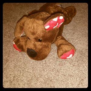 Plush  Dog Animal Adventure  with Hearts 2017